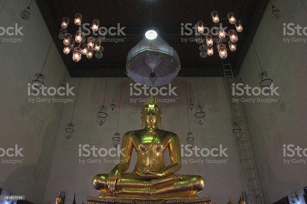 Buda Thai stock photo