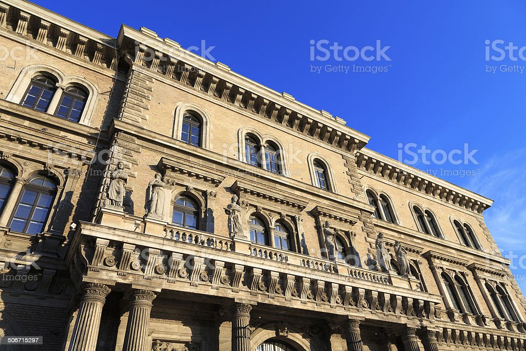 Budapest architecture royalty-free stock photo