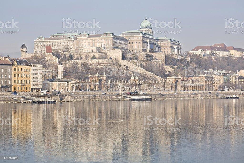 Budapest Buda Castle Hungary royalty-free stock photo