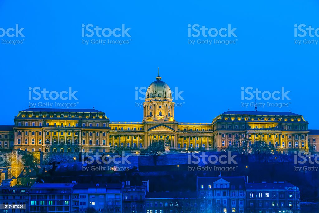 Budapest Buda Castle, Hungary stock photo