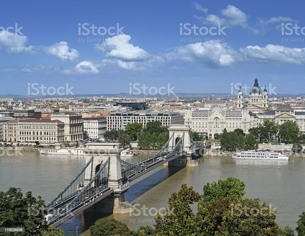Budapest, Capital of Hungary royalty-free stock photo
