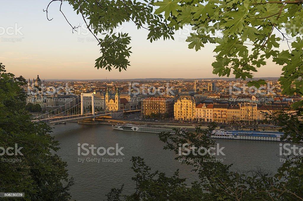 Budapest city stock photo