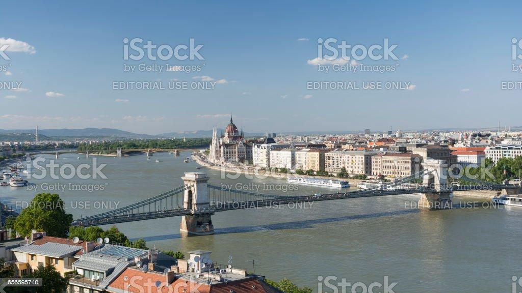 Budapest Cityscape, Hungary stock photo