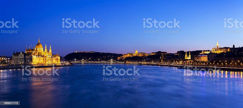 Budapest Cityscape royalty-free stock photo
