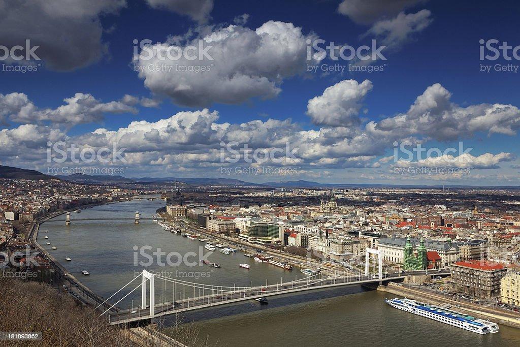 Budapest cityscape stock photo