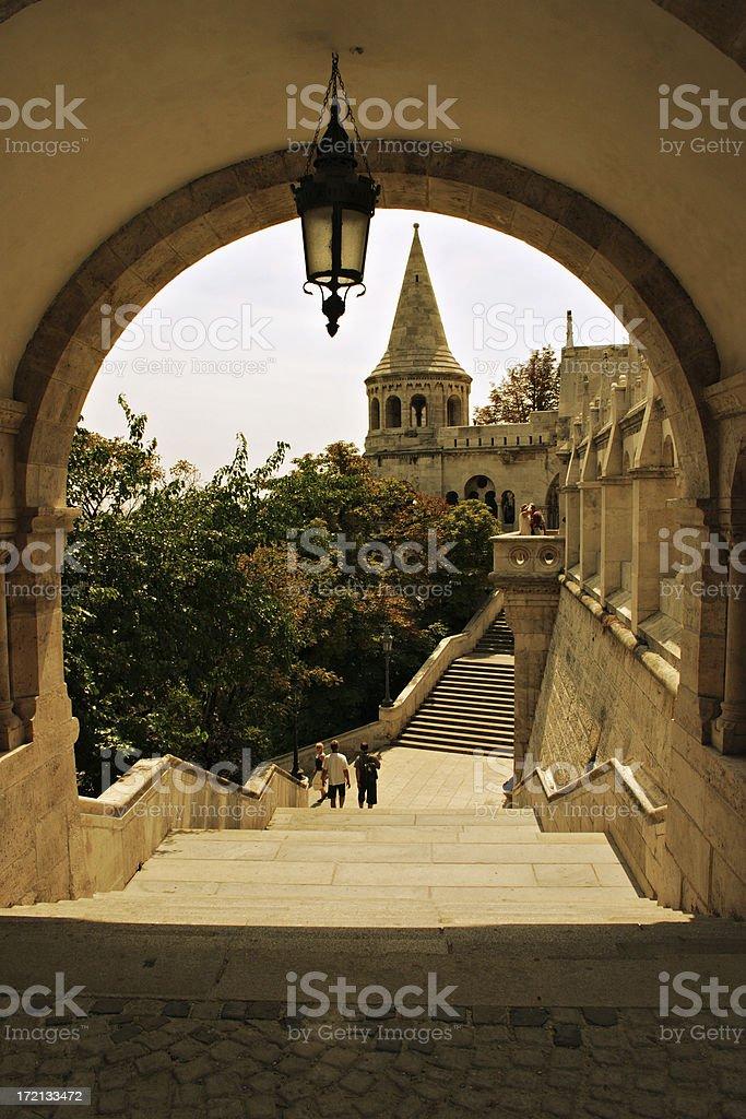 Budapest Fisher's Bastion royalty-free stock photo