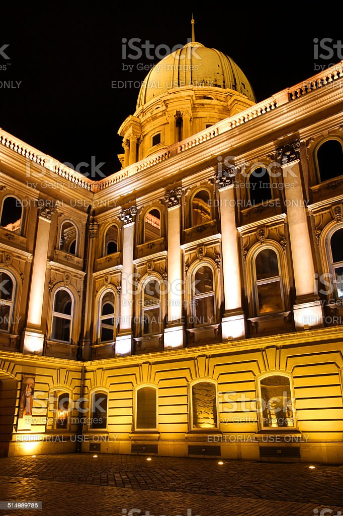 Budapest in Gold stock photo