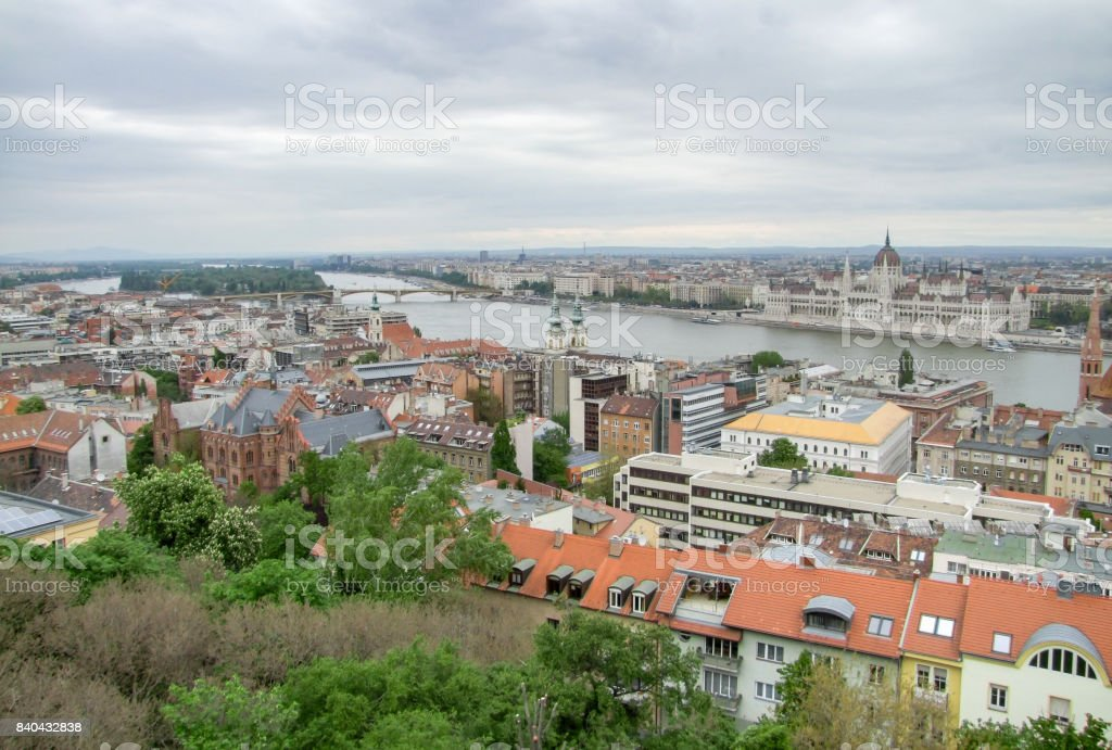 Budapest in Hungary stock photo