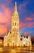 Budapest - Mathias church, Hungary
