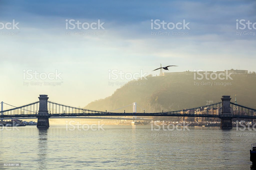 Budapest panorama, Hungary stock photo