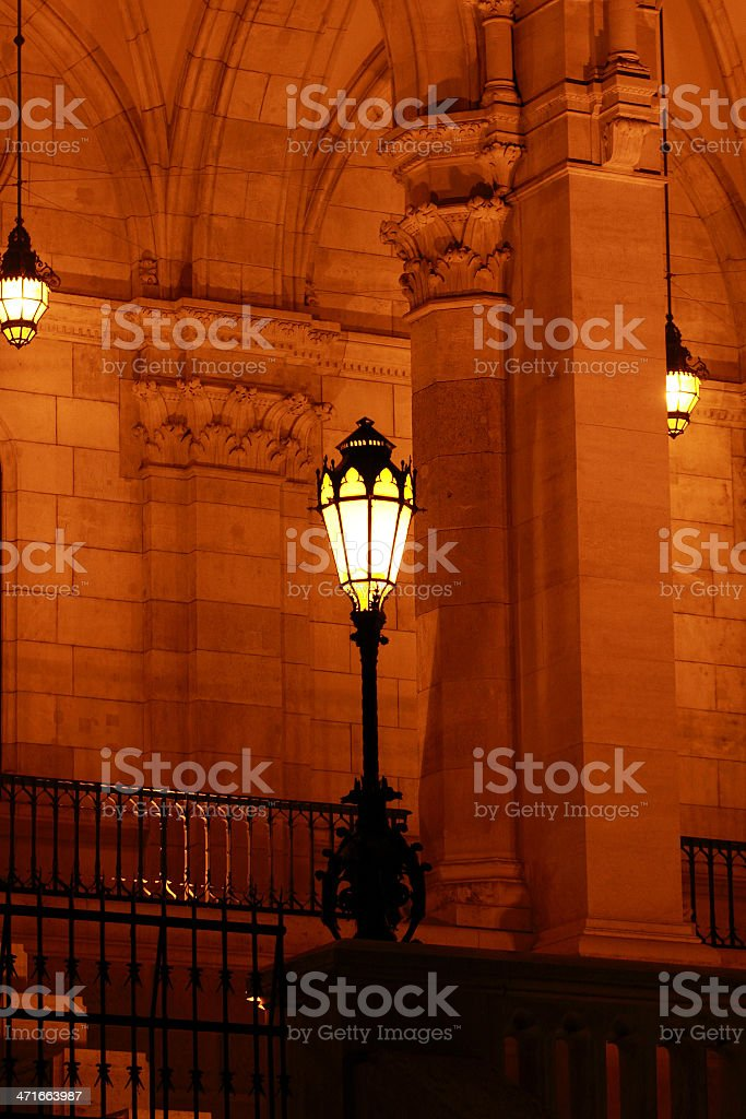 Budapest Parliament building (detail) royalty-free stock photo