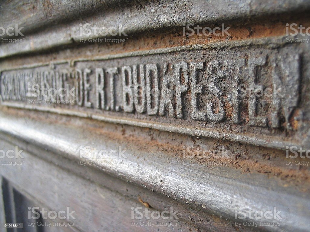 Budapesten royalty-free stock photo
