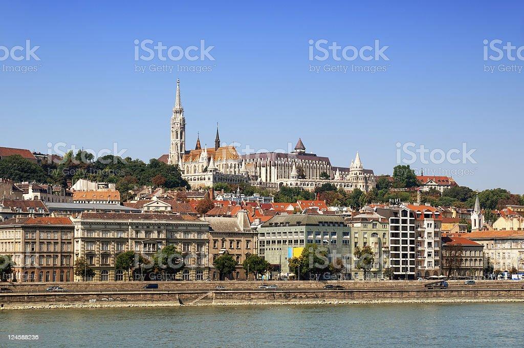 Budapest Riverside stock photo