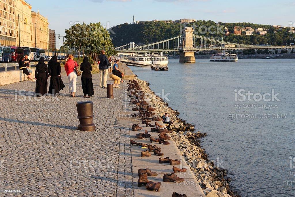 Budapest Shoes stock photo