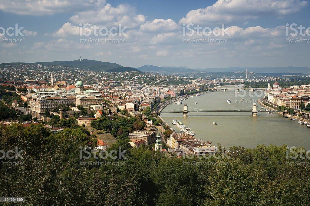Budapest Skyline royalty-free stock photo