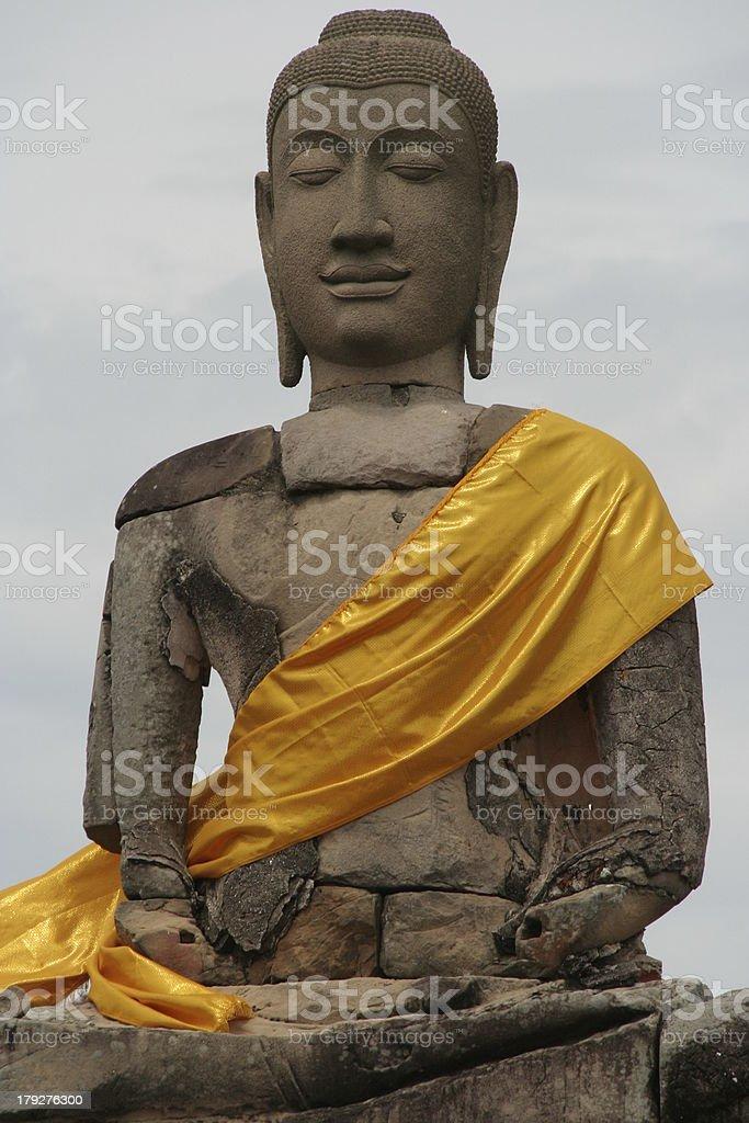 Budda #3 royalty-free stock photo