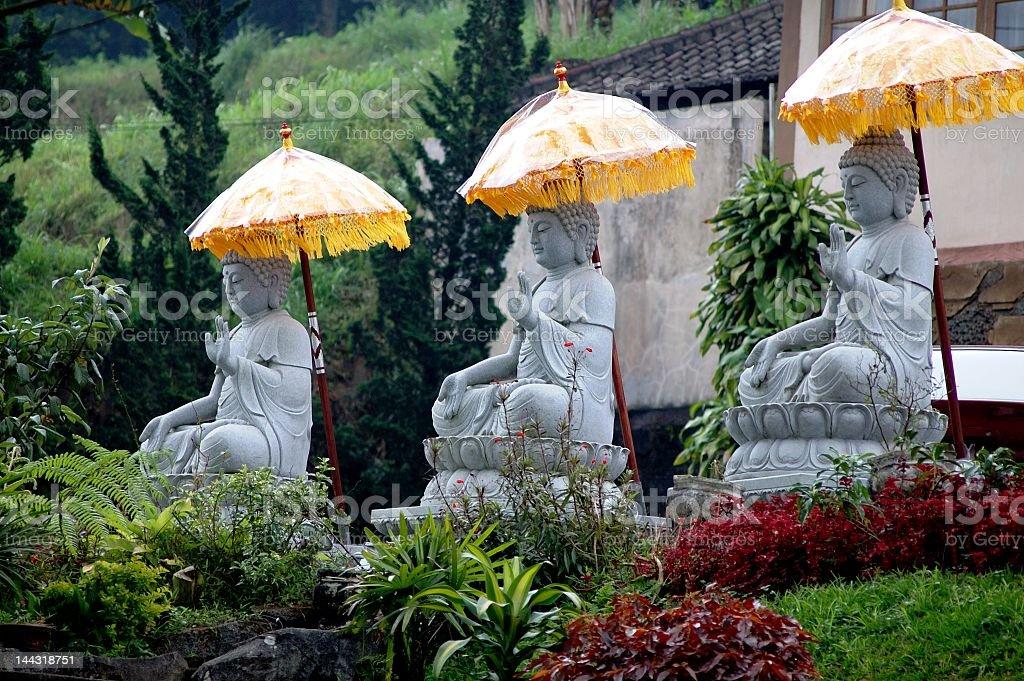 Buddha - Bali. royalty-free stock photo
