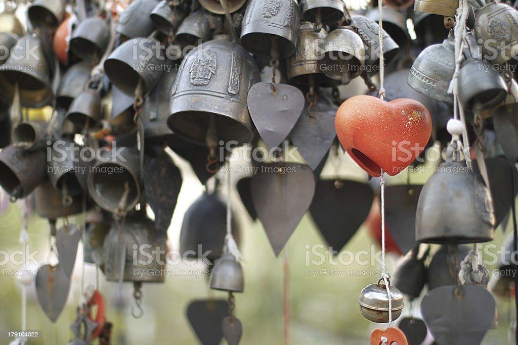 buddha bells royalty-free stock photo