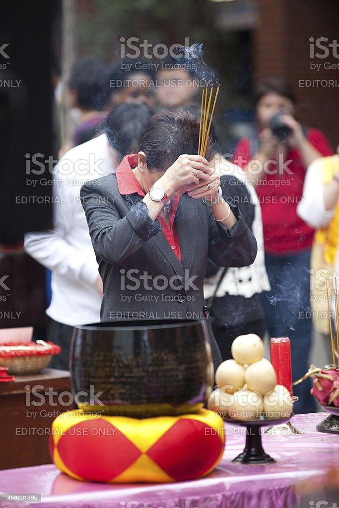 Buddha birthday celebration royalty-free stock photo