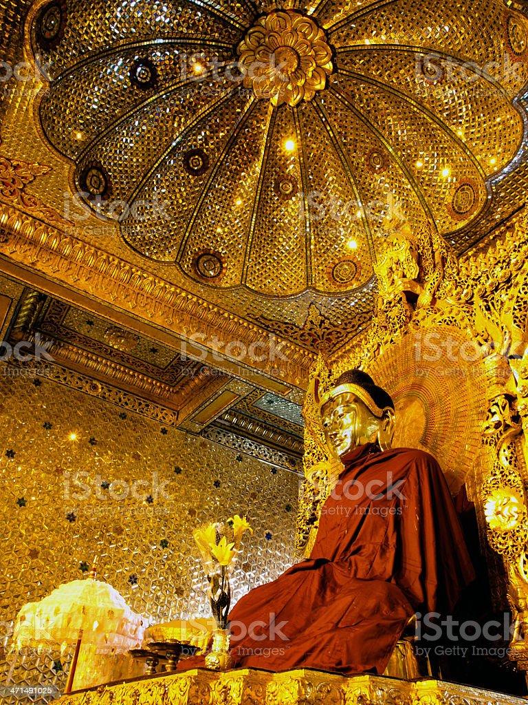 'Buddha, Botataung Pagoda, Burma (Myanmar) royalty-free stock photo