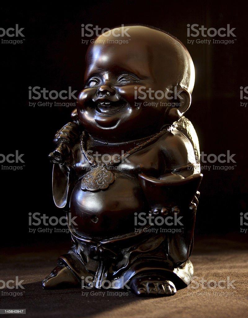 Buddha bringing the light royalty-free stock photo