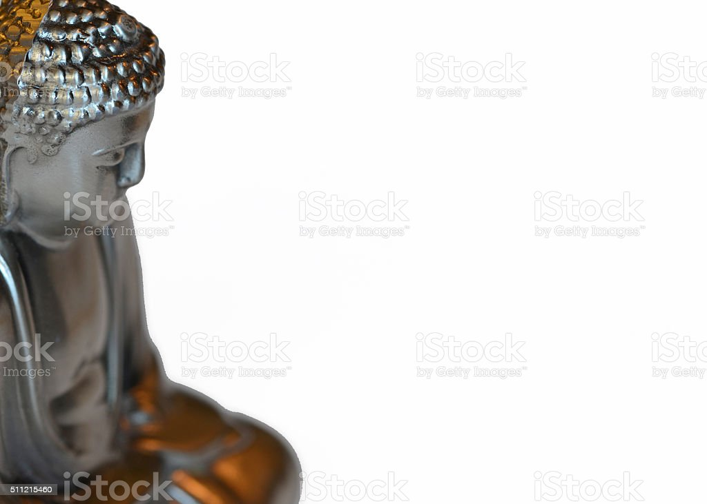 Buddha / Buddhist concept with open space stock photo