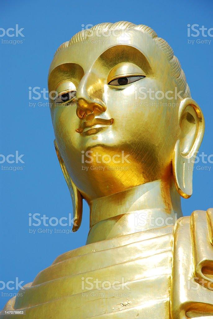 Buddha Close Up royalty-free stock photo