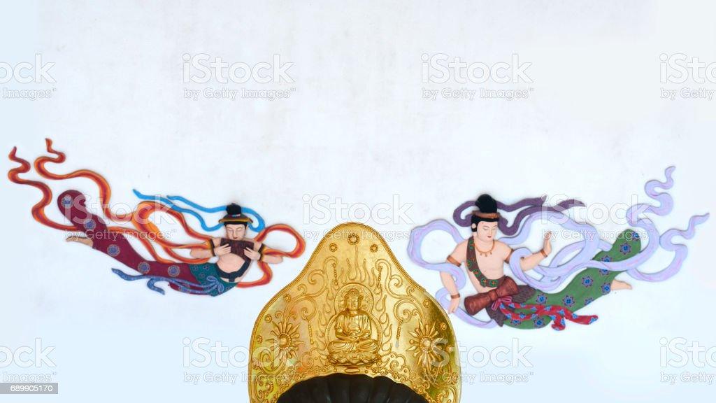 Buddha decoration stock photo