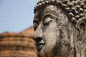 Buddha face in Ayutthaya