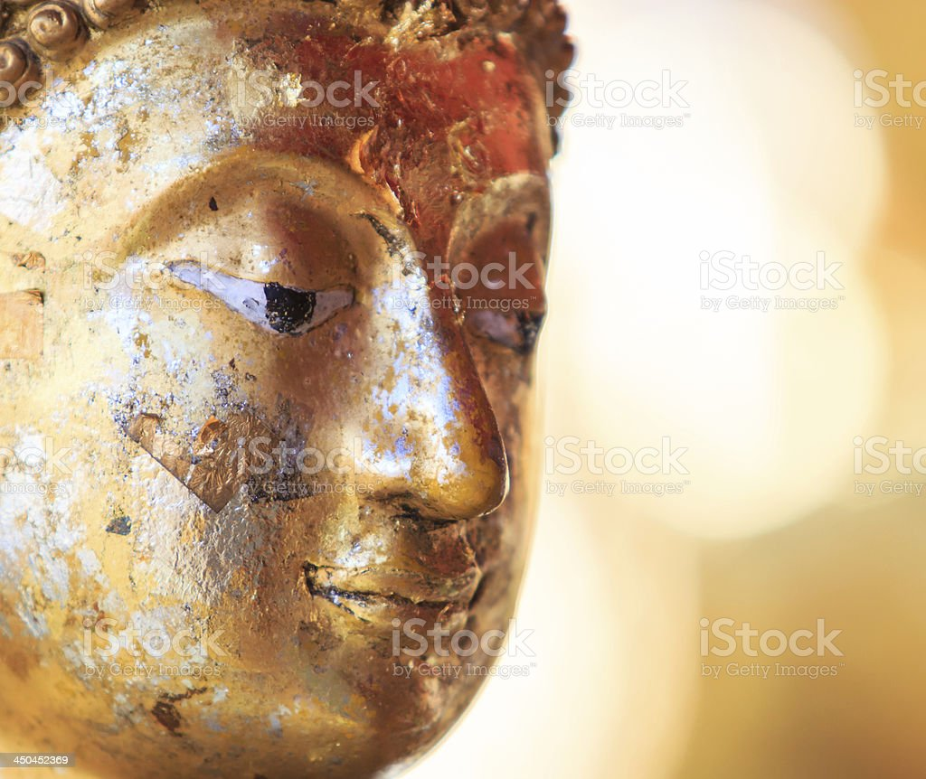 Buddha face royalty-free stock photo