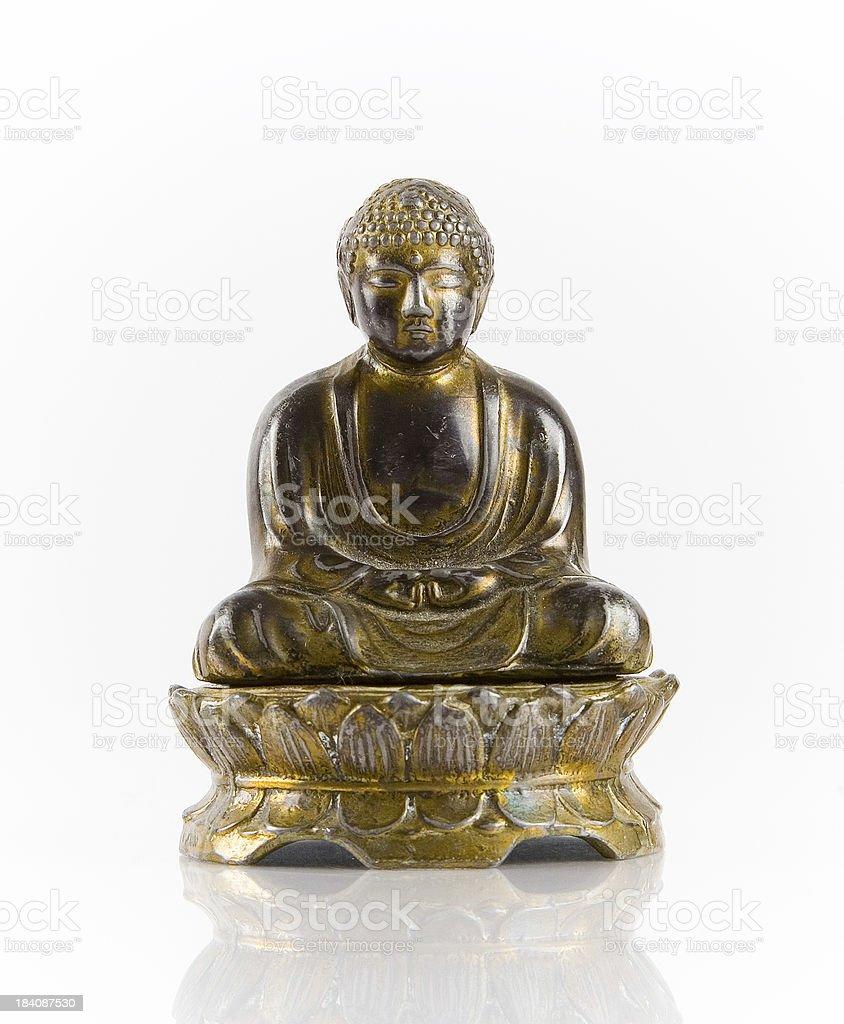 Buddha figurine royalty-free stock photo