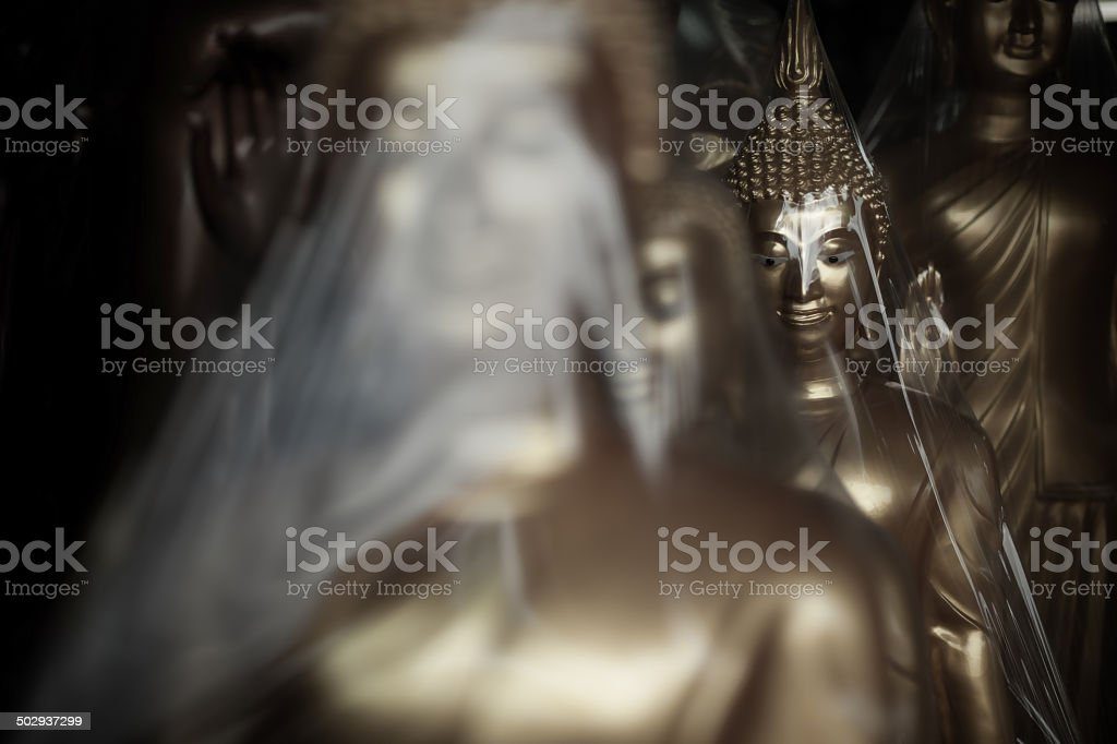 Buddha for sales royalty-free stock photo