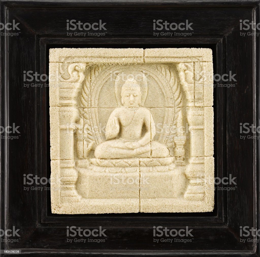 buddha frame royalty free stock photo