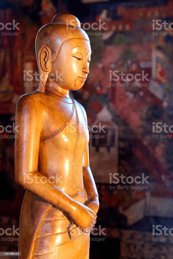 Buddha image stock photo