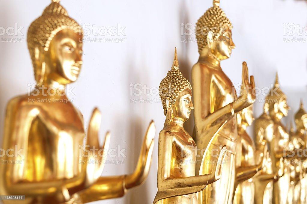 Buddha image style royalty-free stock photo