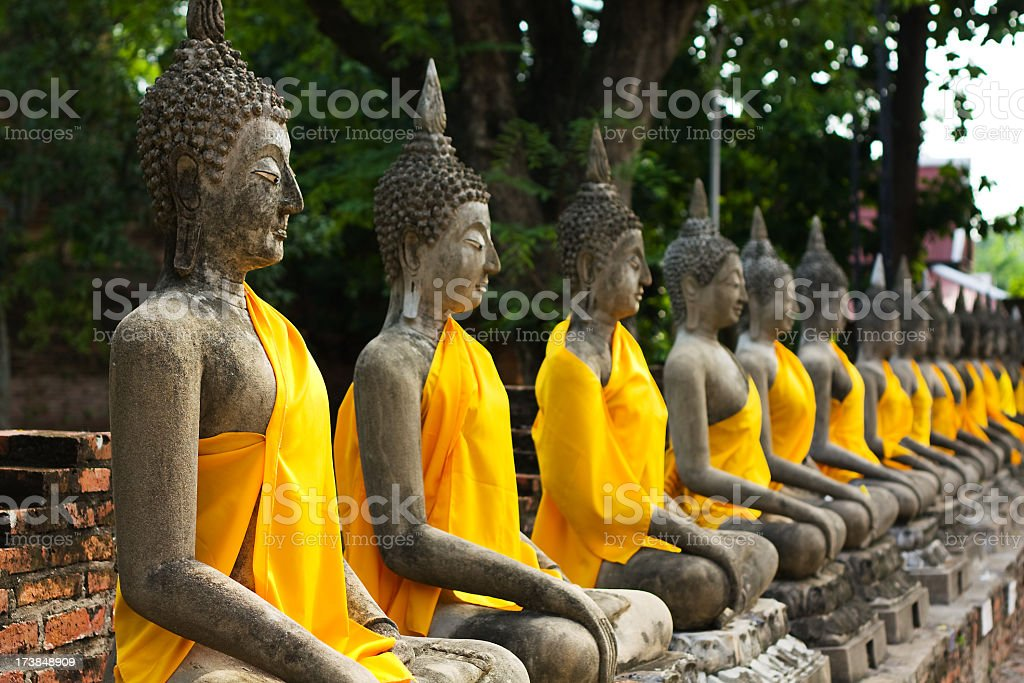 Buddha Image, Thailand stock photo
