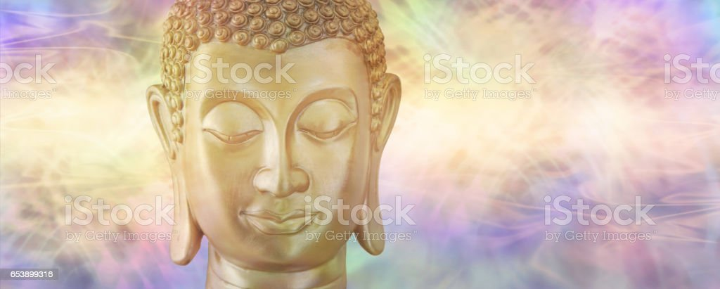 Buddha in Deep Contemplation stock photo