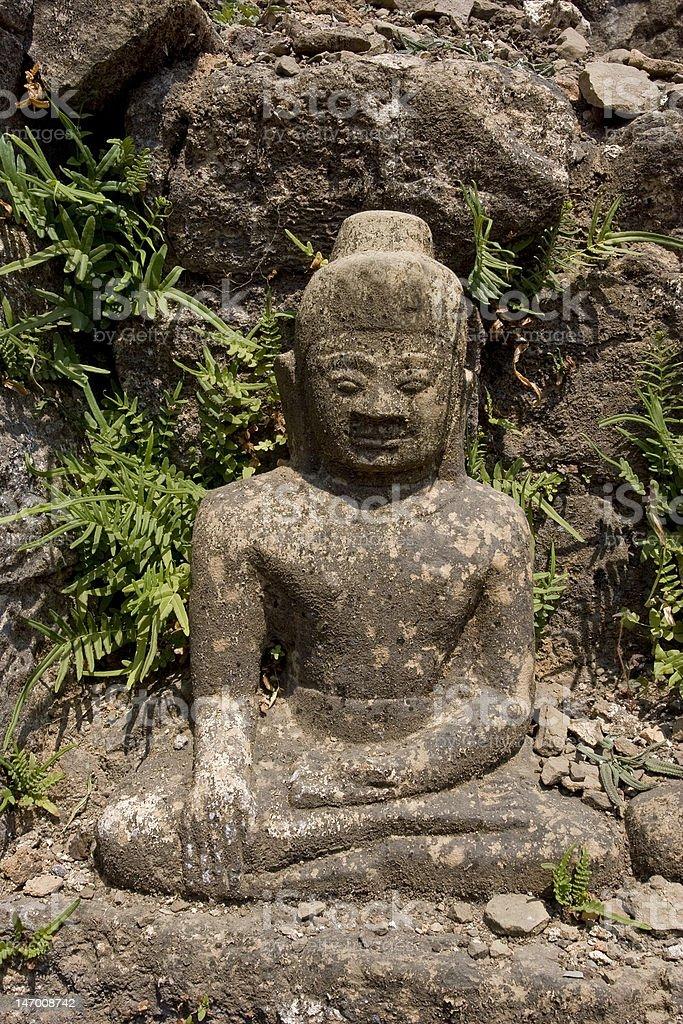 Buddha in Myanmar royalty-free stock photo