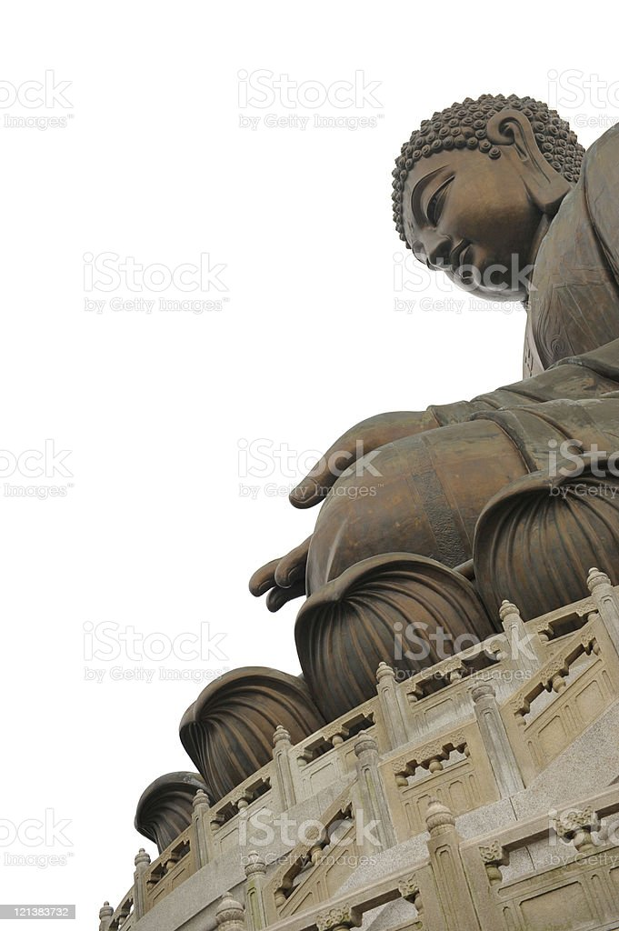 Buddha, Lantau, Hong Kong royalty-free stock photo