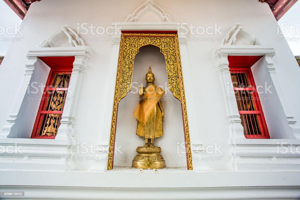 Buddha Leela stock photo