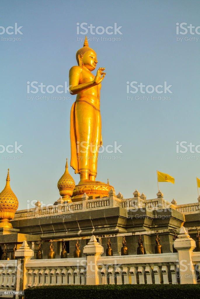 Buddha Mongkol Maharaj stock photo