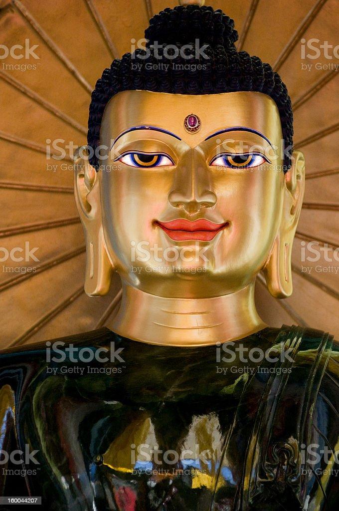 Buddha of World Peace royalty-free stock photo