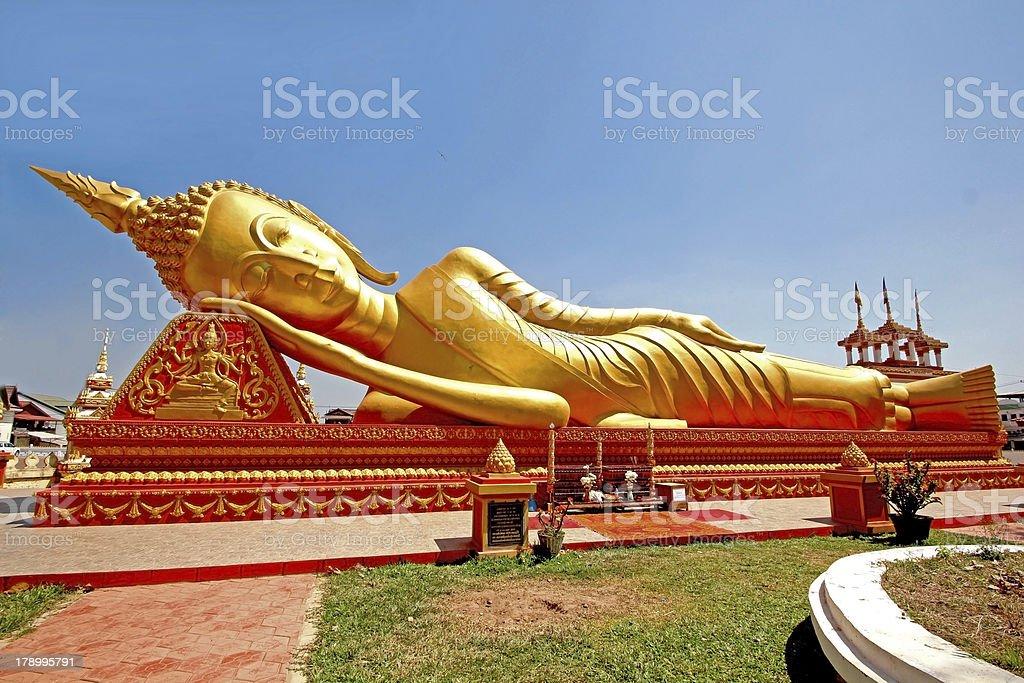 Buddha old royalty-free stock photo