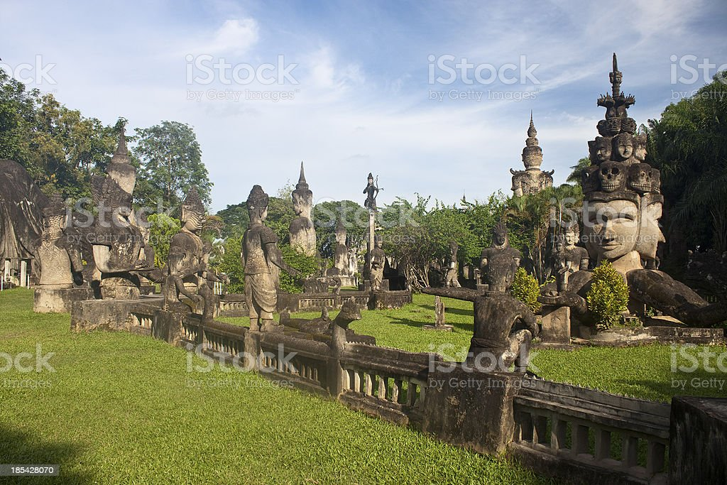 Buddha Park royalty-free stock photo