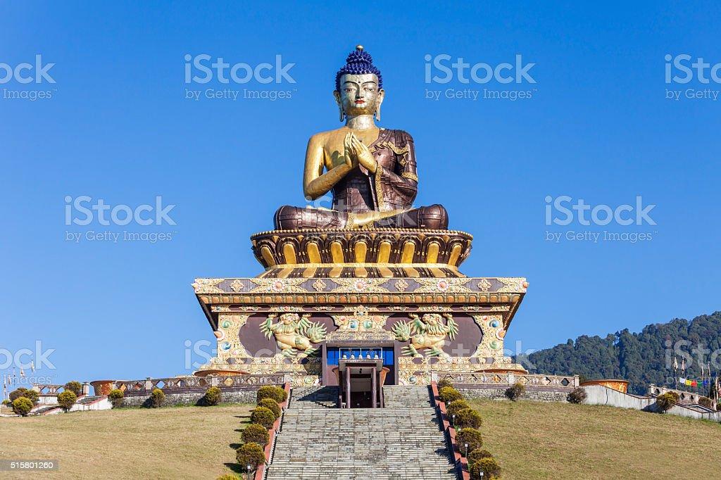 Buddha Park, Ravangla stock photo