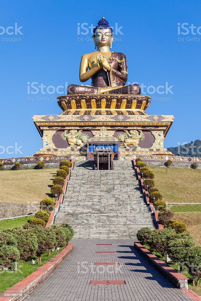 Buddha Park, Ravangla stock photo