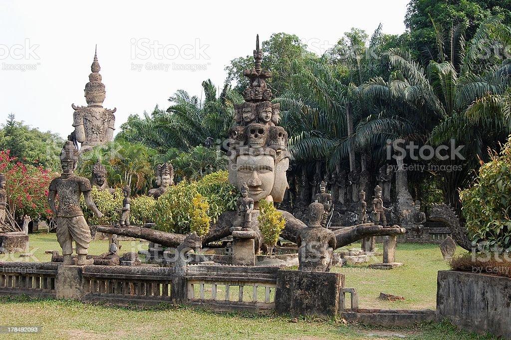 'Buddha park (Xieng Khuan) Vientiane, Laos' stock photo