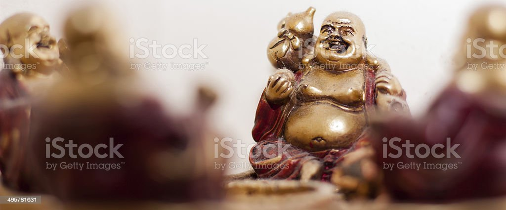 Buddha party stock photo