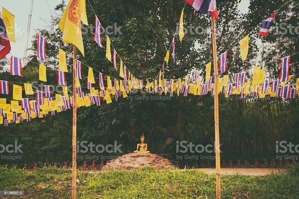 buddha perspective stock photo