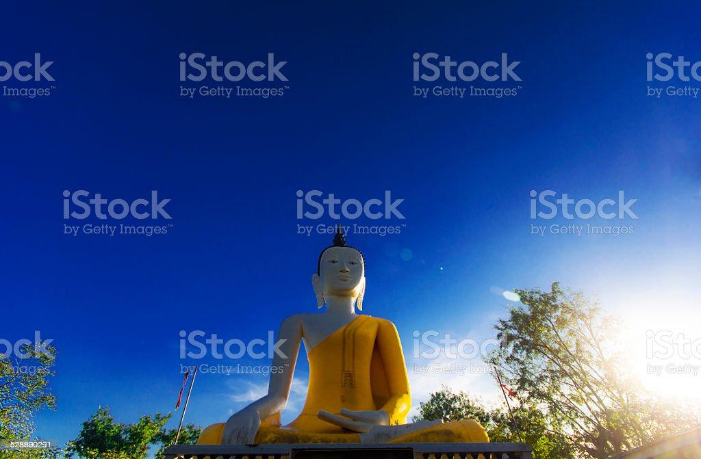 Buddha (Sitting Meditation) royalty-free stock photo